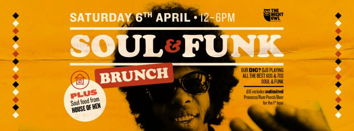 SOUL & FUNK BRUNCH FB