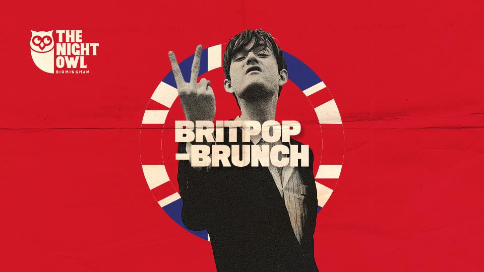 britpop brunch night owl poster